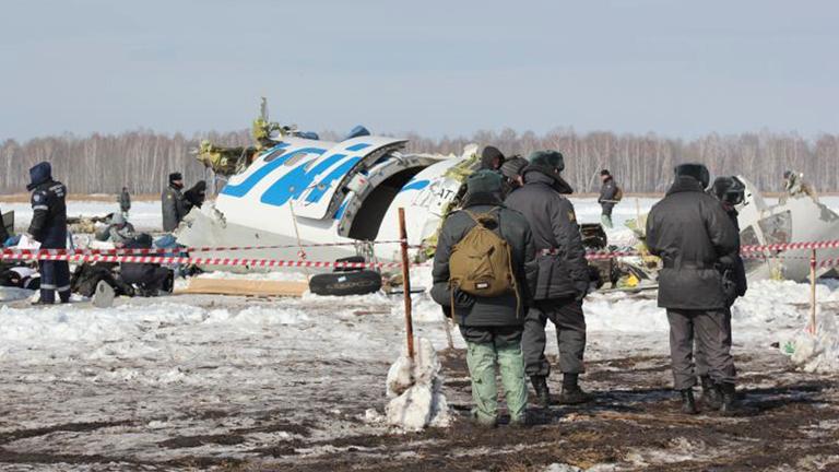 Un accidente de avión en Siberia se cobra la vida de 31 personas