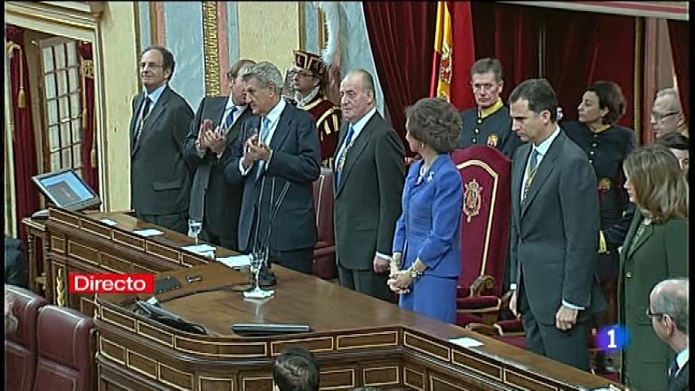 Especial informativo - Acto de apertura de la X Legislatura de las Cortes Generales