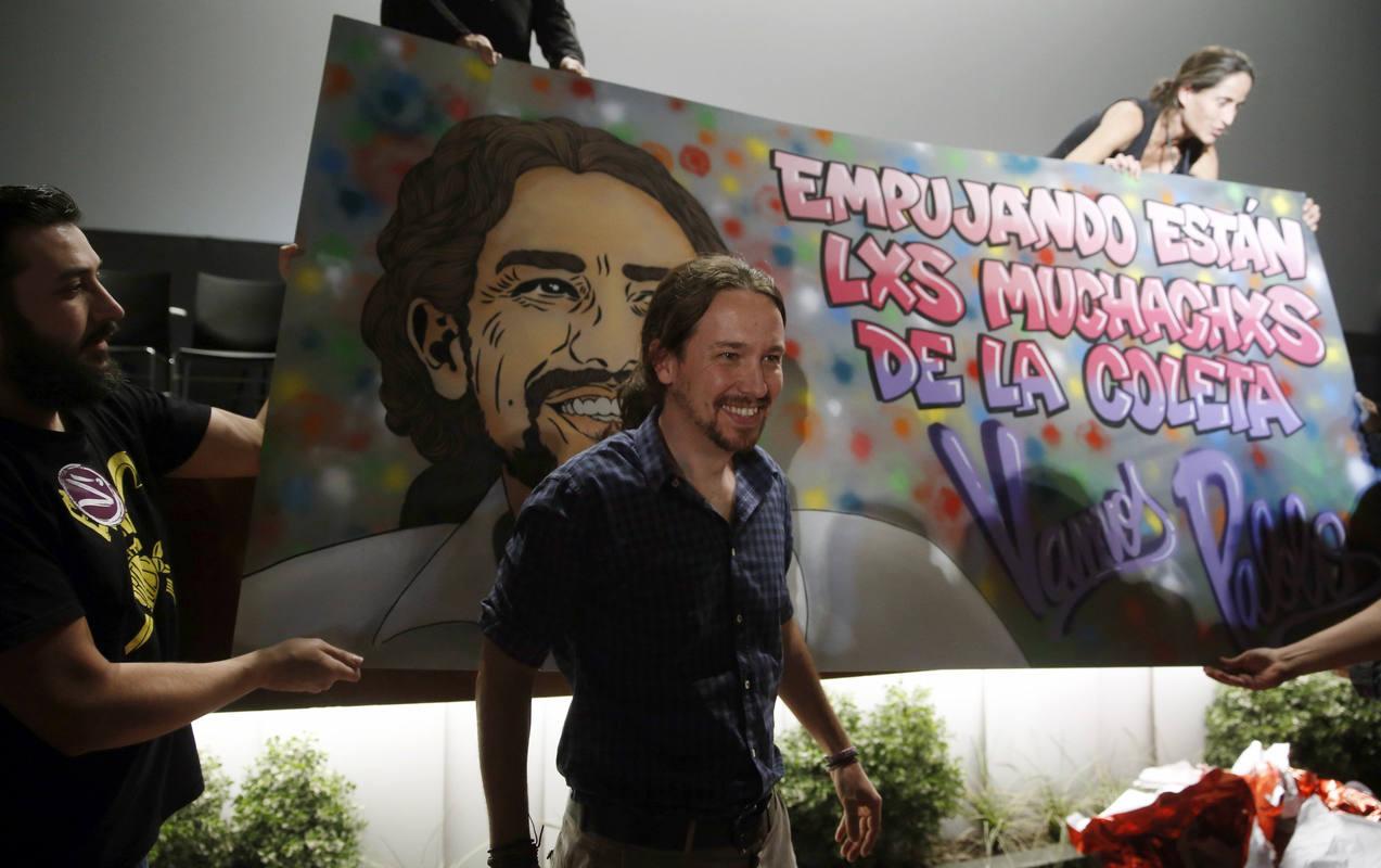 PABLO IGLESIAS EN ACTO CON REPRESENTANTES DE LOS CÍRCULOS DE MADRID