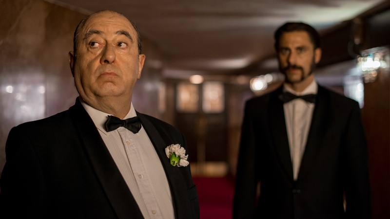 El actor José Ángel Egido interpreta a Alfred Hitchcock