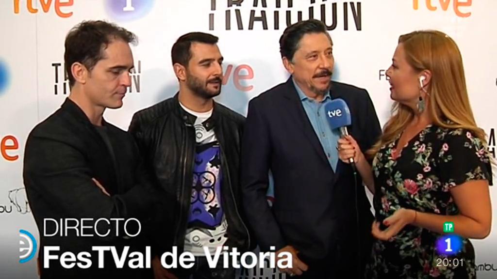 España Directo - Los actores de 'Traición' nos presentan la serie desde el FesTVal de Vitoria