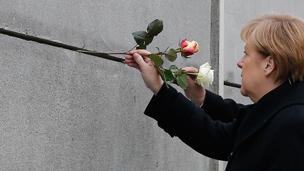 Actos multitudinarios en Alemania 25 años después de la caída del muro