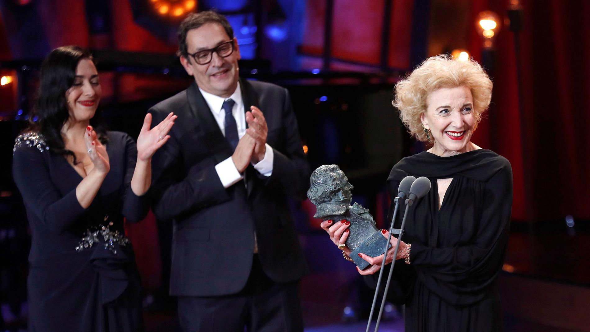 La actriz Marisa Paredes recibe el Goya de Honor en la edición de 2018
