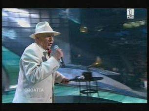 Eurovisión 2008 - Actuación de Croacia con Kraljevi Ulice & 75 Cents