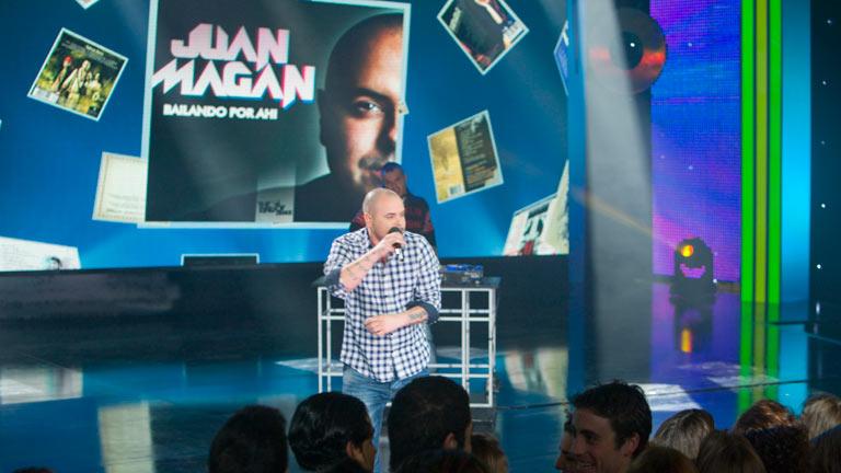Disco del año 2011 - Actuación de Juan Magan
