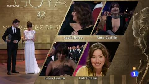 """Adelfa Calvo, Goya a la mejor actriz de reparto por """"El autor"""""""