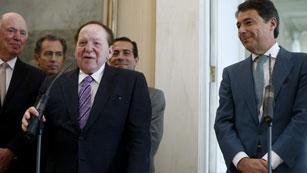 Adelson cuenta con financiación para comenzar Eurovegas