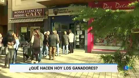 Las administraciones de Lotería han pagado ya más de 75 millones de euros de los premios