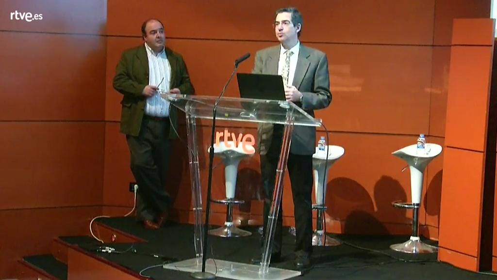 Adolfo Muñoz y José Manuel Menéndez