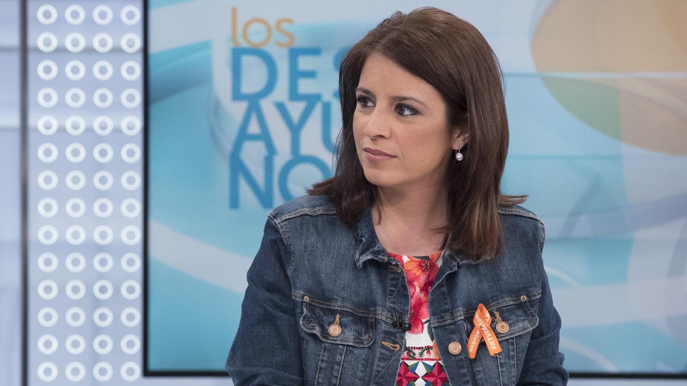 Los desayunos de TVE - Adriana Lastra, portavoz del PSOE en el Congreso de los Diputados y vicesecretaria general del partido