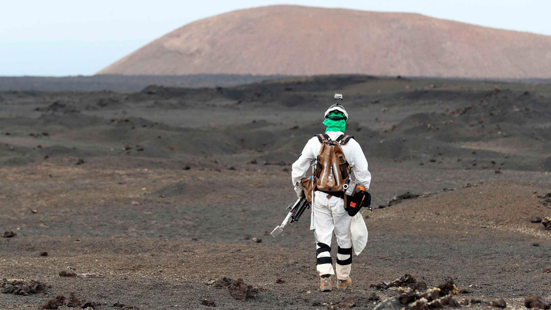 La AEE prueba en Lanzarote las herramientas que usará en Marte