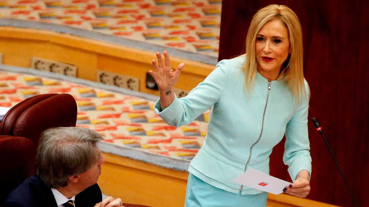 """Aguado, a Cifuentes: """"Culpar a la URJC es como culpar a Ikea de que hay un millón de euros en el altillo de Granados"""""""