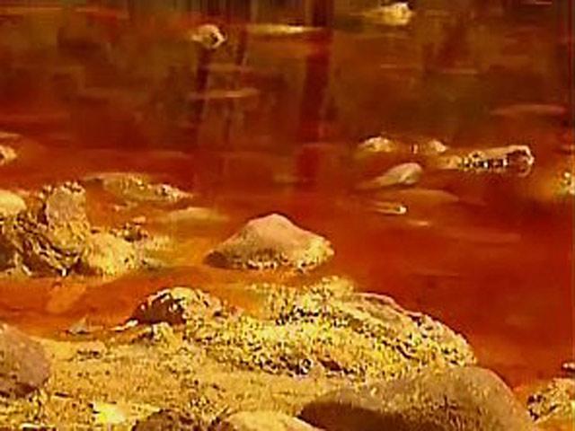 España Directo - Aguas rojas, Río Tinto