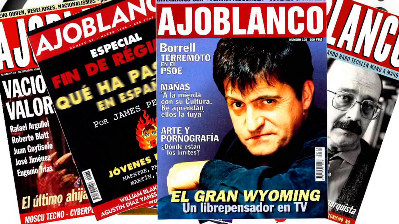 Ajoblanco, la revista libertaria, vuelve con una tirada de 50.000 ejemplares