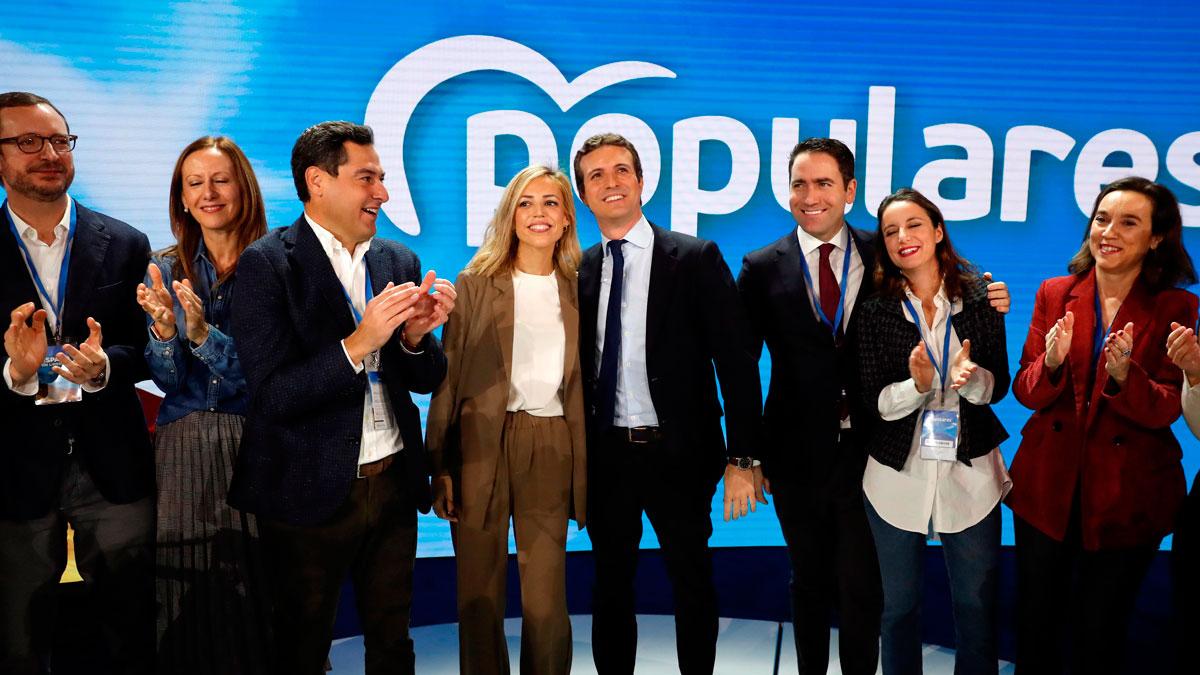 """Alabanzas de los 'populares' al discurso de Casado en la Convención del PP: """"Ha estado de diez"""""""