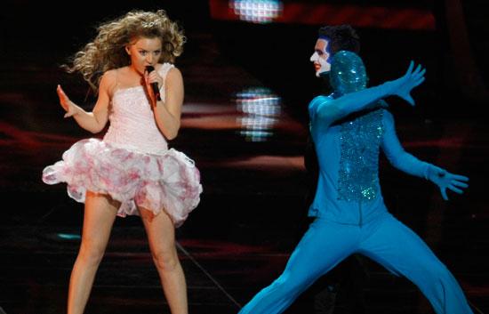 Eurovisión 2009 - Actuación de Albania en la Final