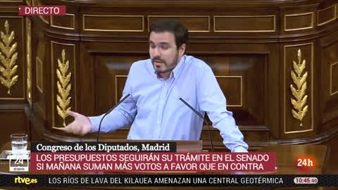 Alberto Garzón (UP) pide la dimisión del 'número 2' de Montoro tras su imputación por malversación