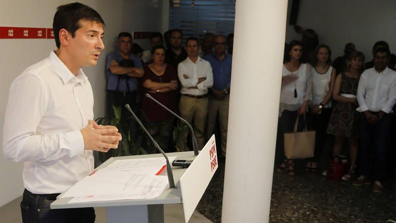 El candidato 'sanchista' a dirigir el PSPV Rafa García