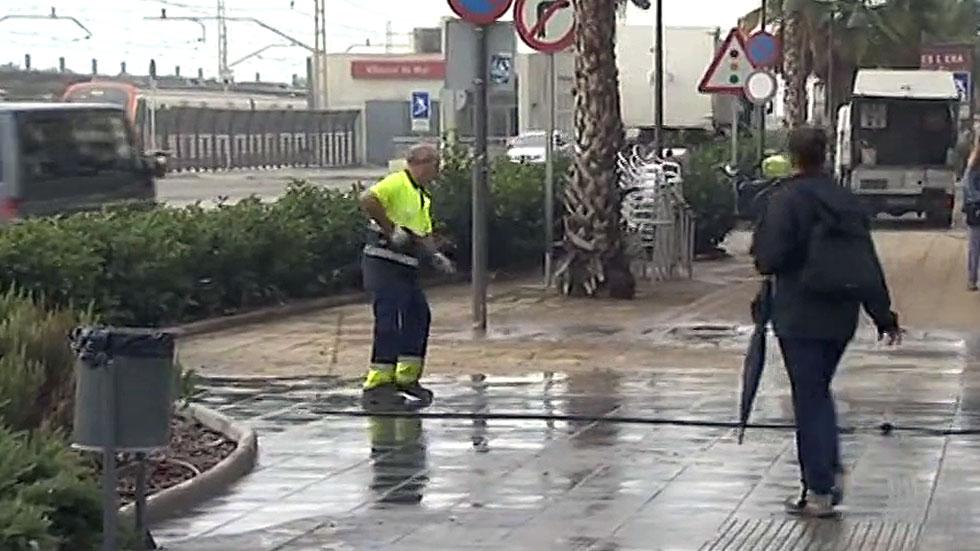 Los alcaldes de Maresme, en Barcelona, acuerdan pedir que se declare zona catastrófica por las lluvias