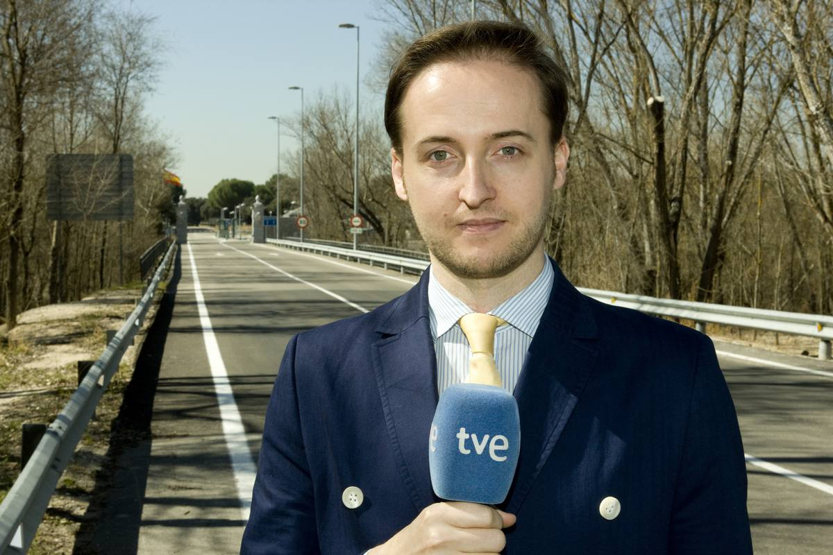 Alejandro Riego, responsable de la información sobre Casa Real
