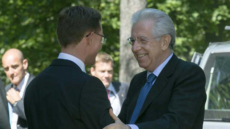 Alemania e Italia intensifican contactos y declaraciones