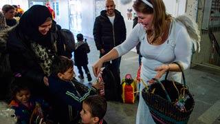 Alemania muestra su solidaridad durante la crisis de los refugiados