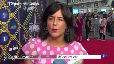 """España Directo - Alex García sobre 'El Continental': """"Es un ambiente muy oscuro pero los personajes le dan mucha luz"""""""