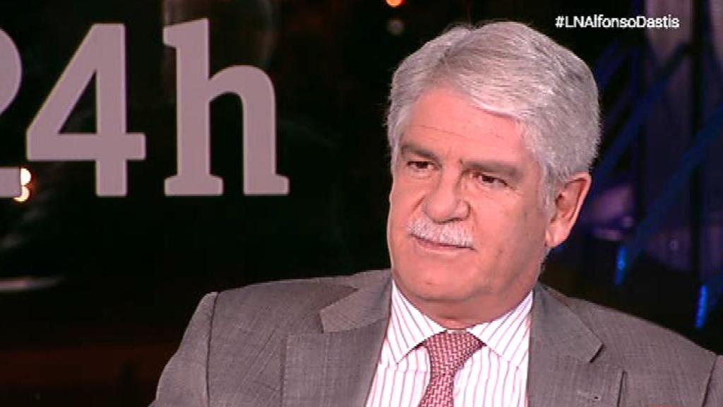 """Alfonso Dastis: los independentistas """"ya han constatado que no tienen apoyo institucional en ningún país"""""""