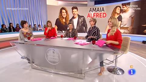 """Alfred y Amaia en """"Amigas y conocidas"""""""