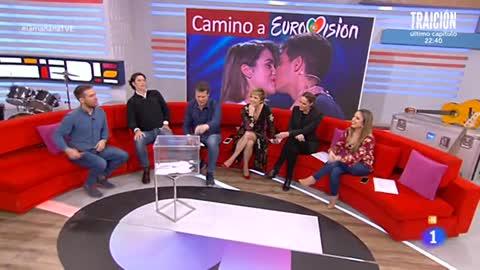 La mañana - Alfred y Amaia, a Eurovisión