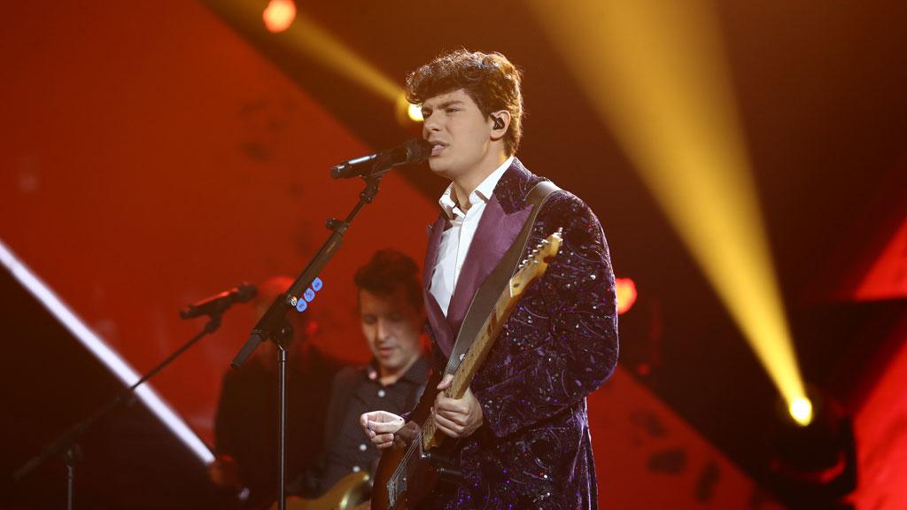 """OT 2018 - Alfred García canta """"De la Tierra hasta Marte"""" en la gala 11"""