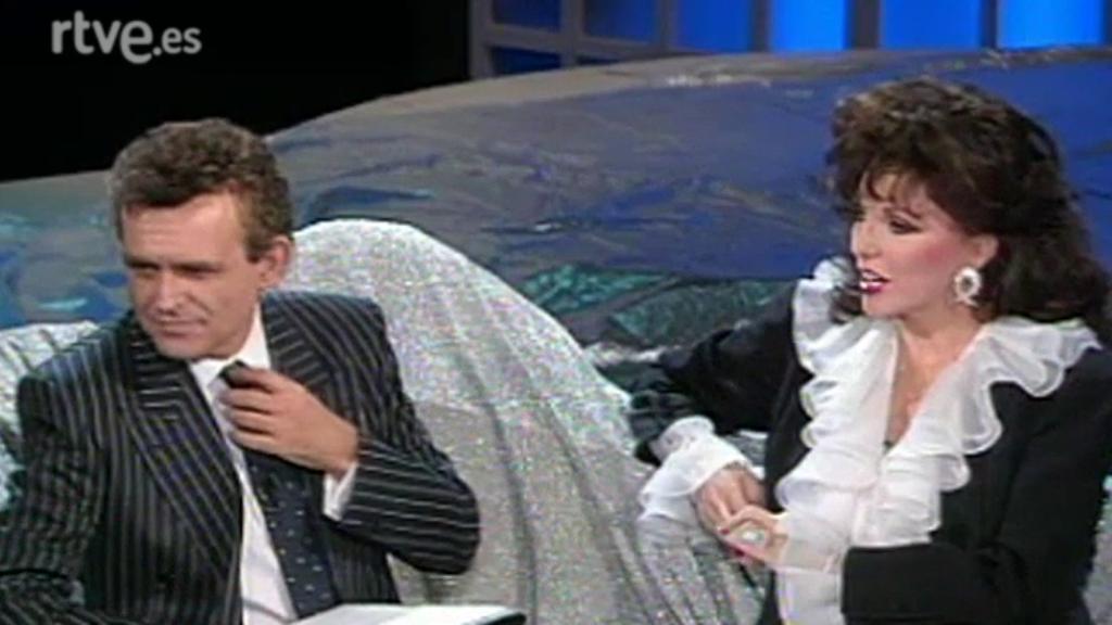 Más estrellas que en el cielo - Alfredo Kraus, Romà Gubern y Joan Collins