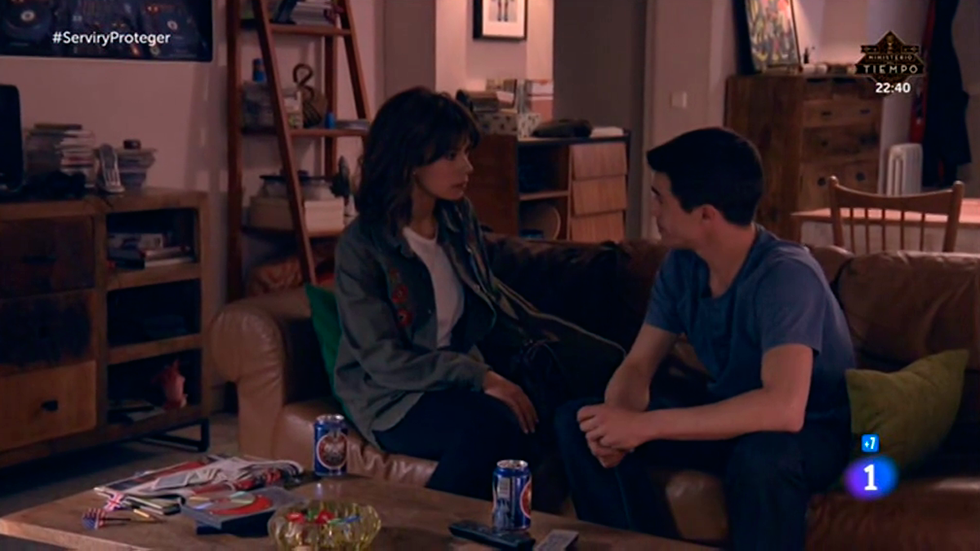 """Servir y proteger - Alicia: """"No soportaría que te pasara nada Rober"""""""