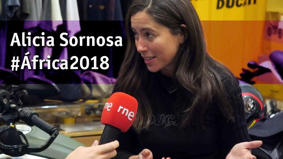 Alicia Sornosa y el desafío #África2018