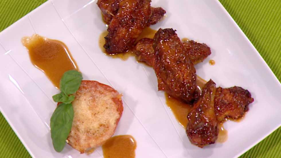 Cocina con Sergio - Alitas adobadas en salsa de cola