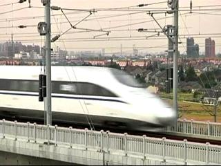Desarrollo de trenes de alta velocidad en China