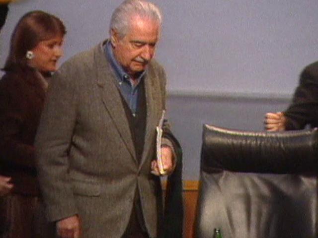 Álvaro Mutis en 'Los libros' (2002)