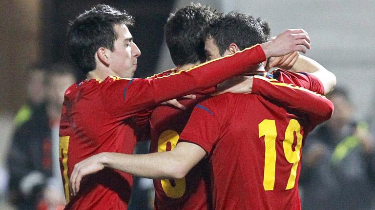 Álvaro Vázquez sentencia el partido (3-1)