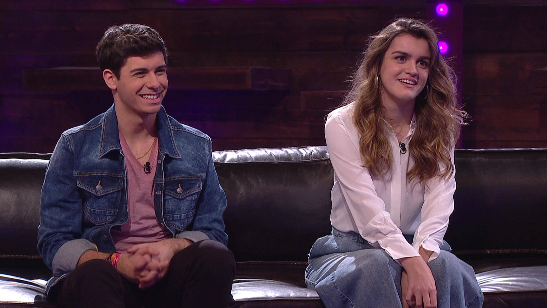 """Amaia y Alfred, muy contentos con el resultado del videoclip de """"Tu canción"""""""