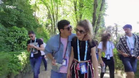 Eurovisión 2018 - Amaia y Alfred visitan Sintra