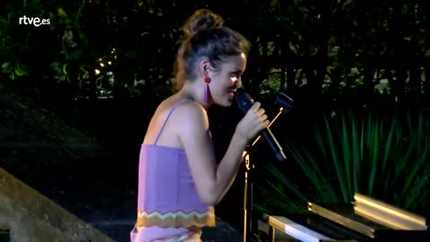 "Operación Triunfo - Amaia llora cantando ""Miedo"" en el casting final de OT 2018"