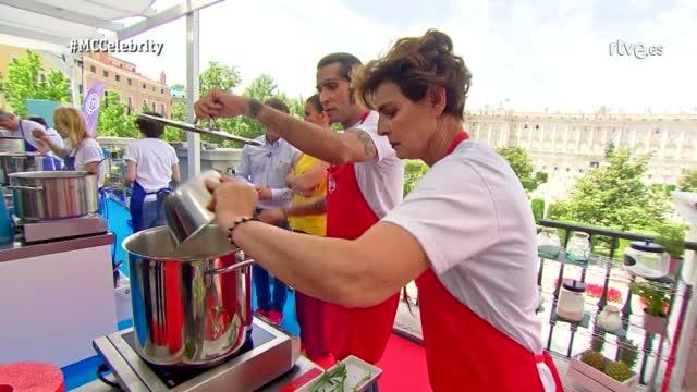 Amaia Montero da el Do de pecho en las cocinas