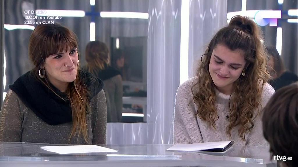 Eurovisión - Amaia se emociona al cantar la canción de Rozalen para Eurovisión
