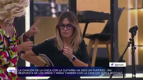 Chat OT 2018 - Amaia sorprende a Noemí Galera con un emotivo mensaje