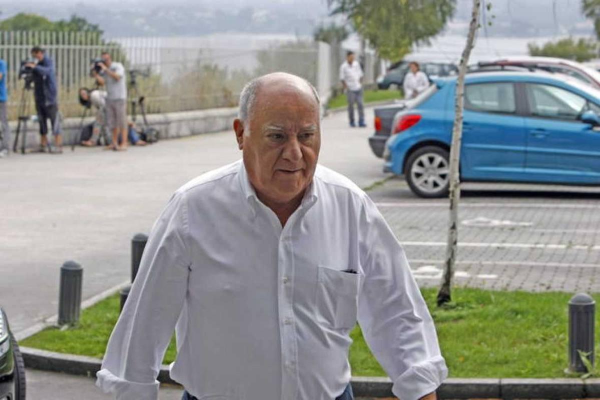 Amancio Ortega, en los primeros puestos de la lista Forbes