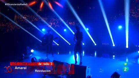 """Concierto Radio 3 - Amaral canta """"Revolución"""""""
