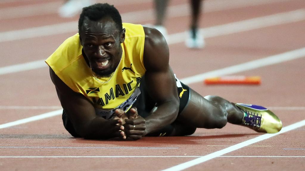 Amargo adiós para Bolt en la fiesta del Reino Unido en el 4x100 en el Mundial de Londres
