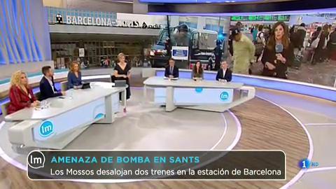 La Mañana - Amenaza de bomba en la estación de Barcelona