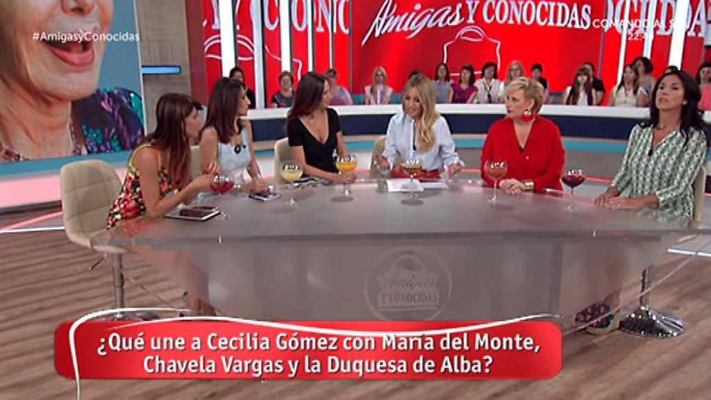 Amigas y conocidas - 09/08/17