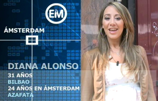 Españoles en el mundo - Amsterdam - Diana